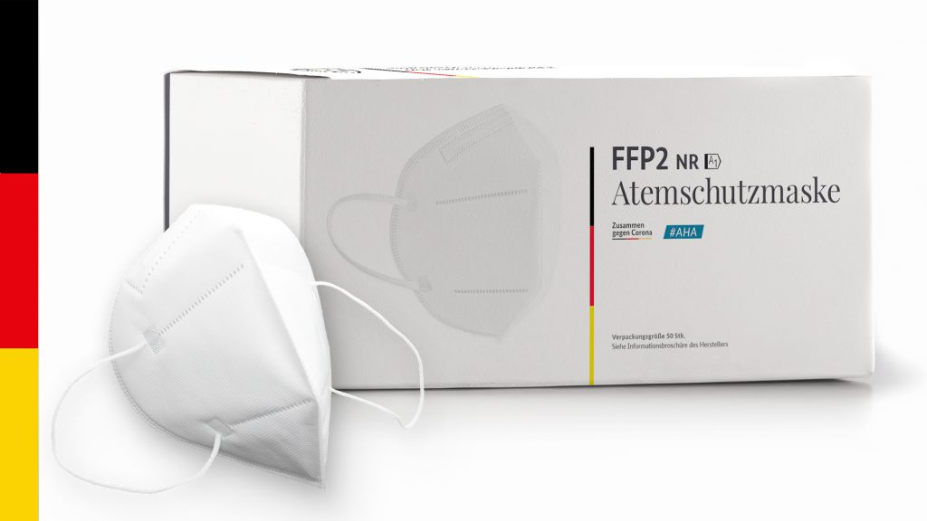 FFP2 Atemschutzmasken Made in Germany PSA