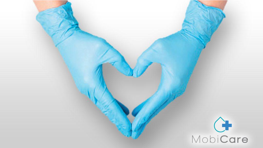 Nitril Handschuhe PSA